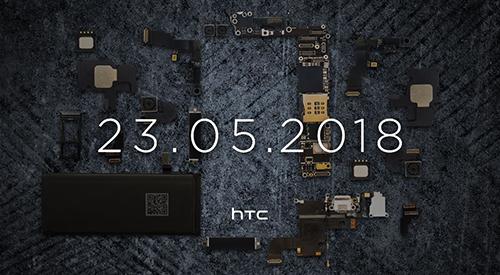 Thư mời ra mắt sản phẩm mới của HTC.