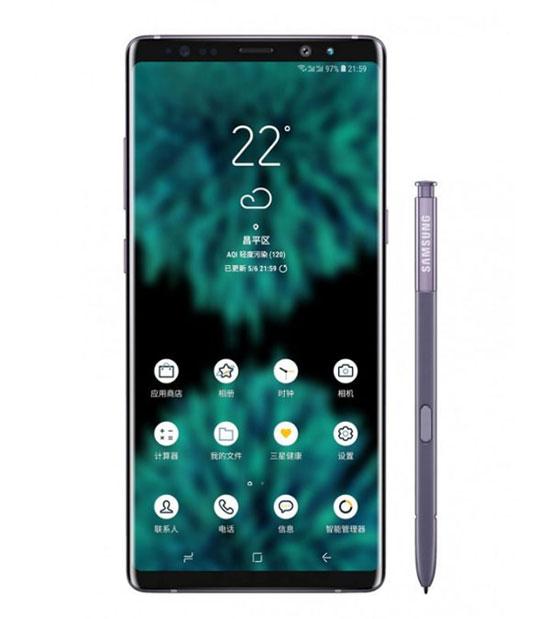 Galaxy Note 9 lộ ảnh