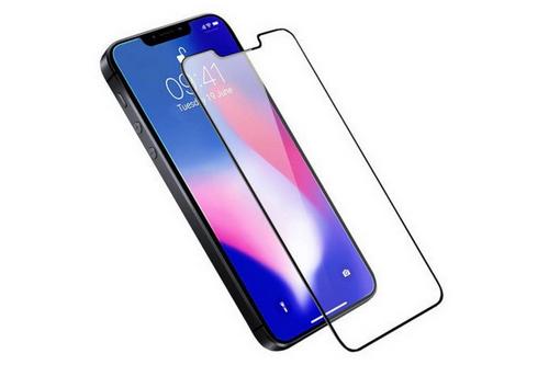 ẢNh quảng cáo tấm dán cường lực cho iPhone SE mới của Olixar.