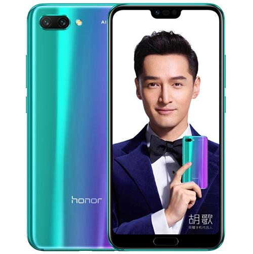 Honor 10sử dụng công nghệ phủ Aurora Glass.