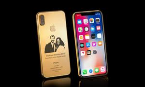 iPhone X phiên bản đám cưới Hoàng gia Anh giá 4.000 USD