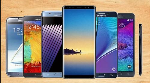 Galaxy Note và S là dòng sản phẩm cao cấp gặt hái được nhiều thành công của Samsung.