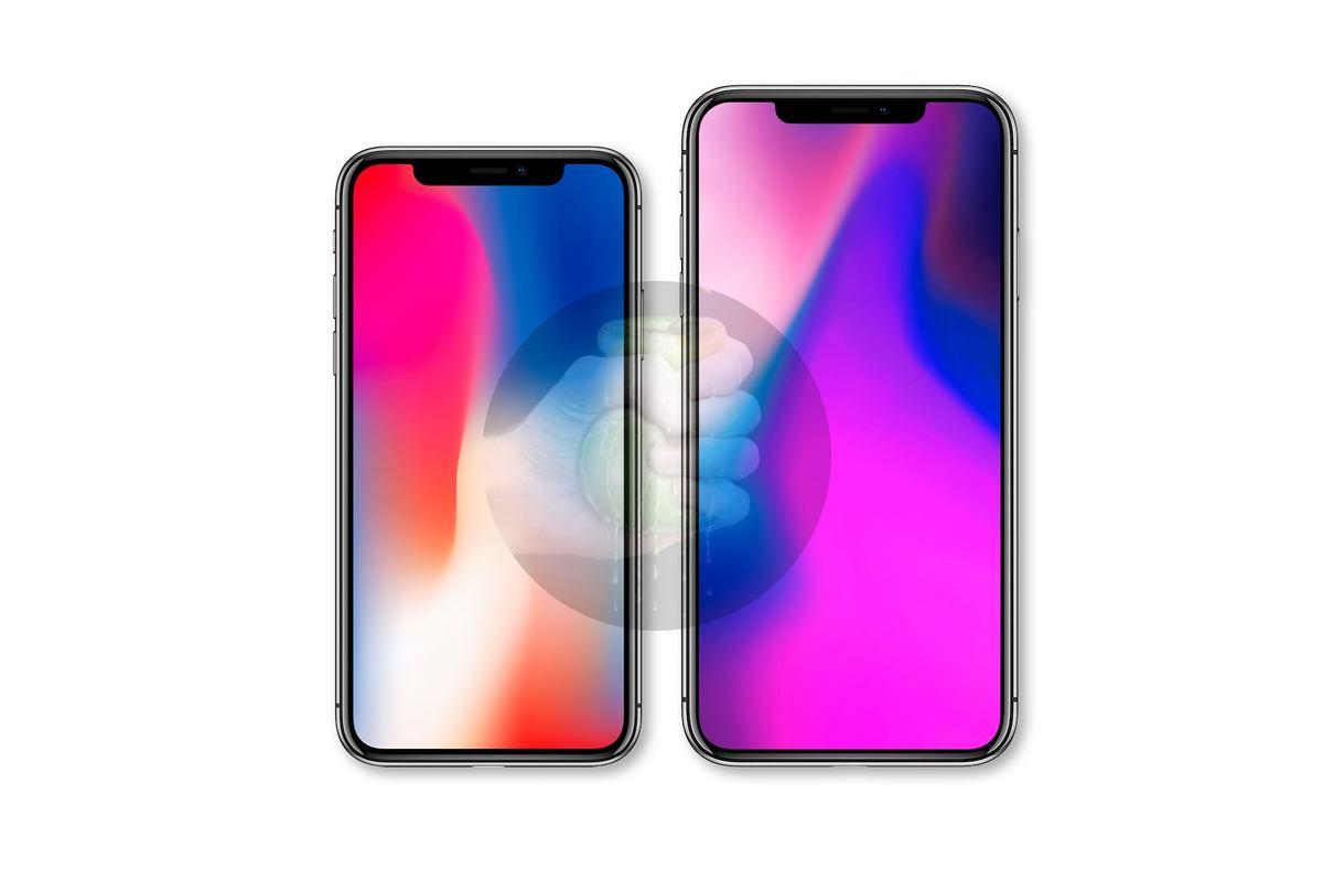 Ảnh bộ ba iPhone 2018 sắp ra mắt so dáng