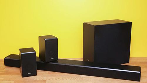 Sound bar có giá từ hơn một triệu đồng sẽ giúp cải thiện chất lượng âm thanh so với loa tích hợp TV.