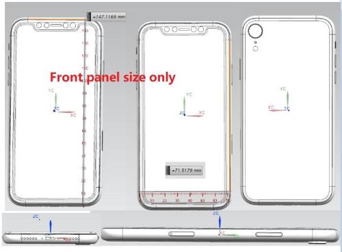 iPhone đời mới trong 2018 được cho có thêm phiên bản 6,1 inch với thiết kế tai thỏ như iPhone X.