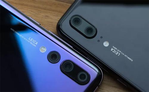Smartphone với ba camera P20 Pro của Huawei gây ấn tượng đầu năm. Ảnh: CNet