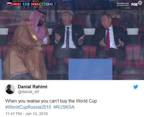 Khi Thái tử Salman nhận ra rằng ông không thể dùng tiền mua World Cup.
