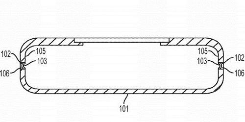 Sáng chế mô tả tính năng bóp trên smartphone Apple.