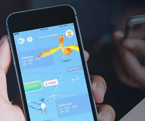 Pokemon Go đã cho game thủ giao dịch quái vật sau 2 năm.