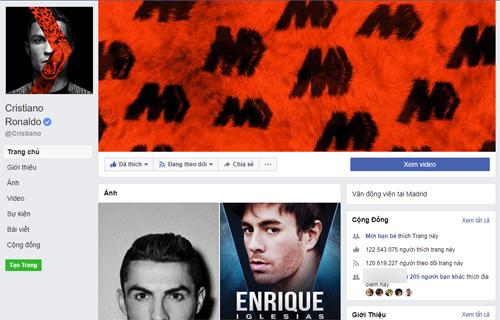 Ronaldo là cầu thủ bóng đá nổi tiếng nhất trên mạng xã hội.