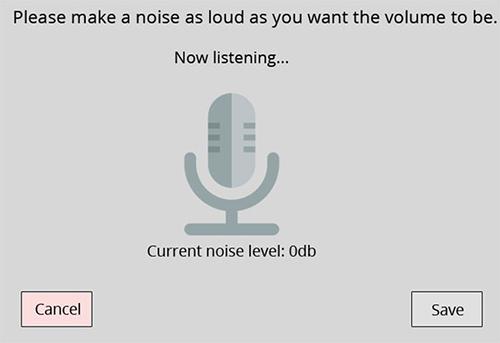 Hét càng to càng tốt để tăng âm lượng, cách không dành cho đêm khuya hoặc nơi yên tĩnh.