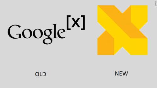 Logo cũ và mới của Google X, bộ phận bí ẩn nhất của Google.