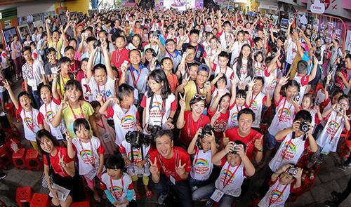 Canon PhotoMarathon Junior thu hút gần 1.000 thí sinh nhí.