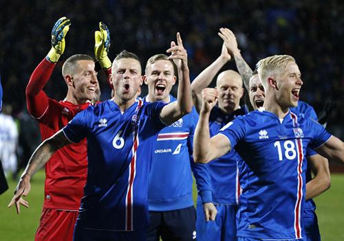 Iceland đã sớm rời vòng bảng, nhưng quốc gia này đã vô địch World Cup về tốc độ mạng.