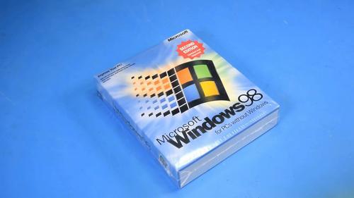 Không thể thiếu làWindows 98 Second Edition.