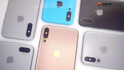 Apple đang phải đối mặt với doanh số iPhone X sụt giảm đáng kể do nhu cầu mua thấp và sản phẩm bị đánh giá là đắt đỏ. Vì thế, hãng công nghệ Mỹ có thể tung ra iPhone hoàn toàn mới thay thế X trong năm nay. iPhone 2018 hứa hẹn có tới 3 kích cỡ màn hình khác nhau: 5,8, 6,1 và 6,5 inch.