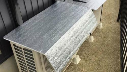 Tấm bạc chống nhiệtcó giá rẻ nhưng mang lại hiệu quả sử dụng cao.