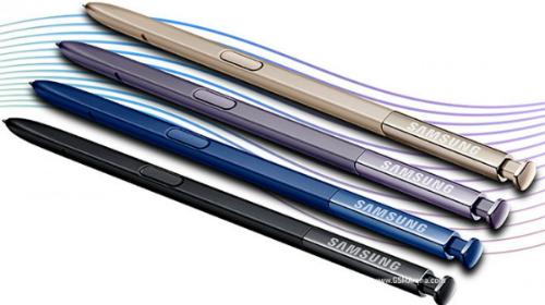 Hình ảnh được cho là bút cảm ứng đi kèm với Galaxy Note sắp ra mắt. Ảnh: GSMArena.