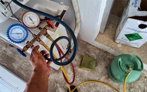 Hết gas hoặc gas yếu phần lớn do lắp đặt không cẩn thận, không đúng kỹ thuật gây ra.