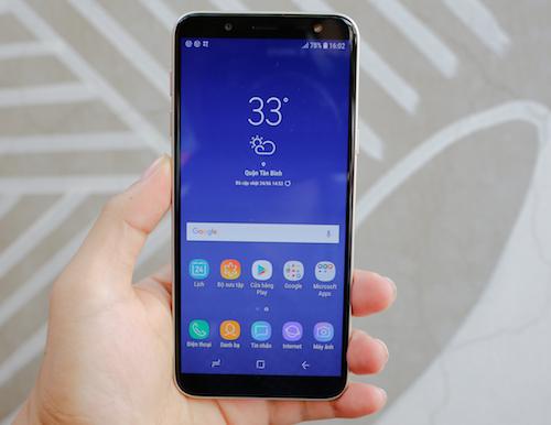 Galaxy J6 - smartphone dòng J đầu tiên có màn hình vô cực - 3