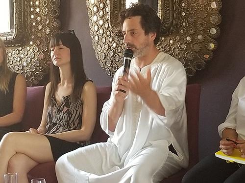 Sergey Brin, đồng sáng lập Google, chia sẻ tại hội nghị blockchain tổ chức ở Morocco.