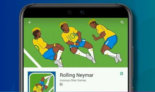 Game yêu cầu người chơi điều khiển nhân vật Neymar lăn lộn giả chấn thương trước mắt trọng tài.