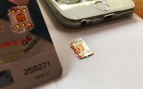 Với mã ICCID mới, người dùng iPhone lock chỉ cần dùng sim ghép 1 lần duy nhất, sau đó tháo ra dùng như bản quốc tế, miễn không cập nhật hay khôi phục cài đặt gốc.