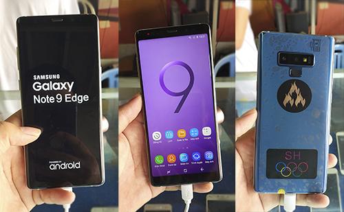 Điện thoại nhái Galaxy Note9, S10 giá 2,7 triệu đồng tại Việt Nam