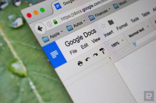 Google Documents dùng AI để tìm lỗi ngữ pháp