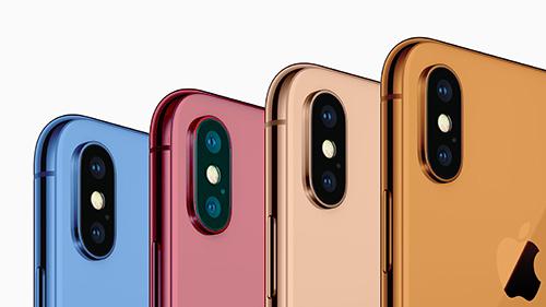 Nhiều màu sắc có thể là chiêu giúp iPhone 2018 hút khách.