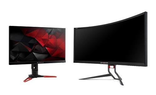 Bộ đôi màn hình XB271 (trái) và Z35Pđược người dùng đánh giá cao về chất lượng hiển thị.