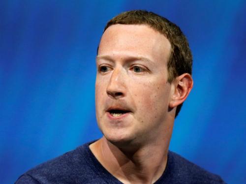 Mark Zuckerberg, CEO kiêm chủ tịch Facebook. Ảnh: Reuters