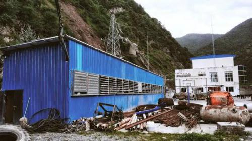 Một mỏ khai thác tiền ảo quy mô nhỏ ở Tứ Xuyên.