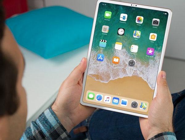 iPad Pro 2018 có viền mỏng, không còn cổng 3,5 mm