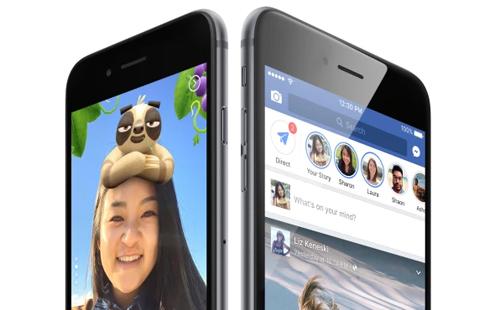 Facebook tin rằng Stories mang đến hình thức tương tác mới mẻ cho người dùng.