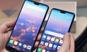 Google cấm điện thoại Android có nhiều hơn hai 'tai thỏ'