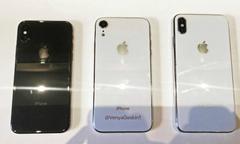Bộ ba iPhone 9, iPhone X và X Plus so dáng