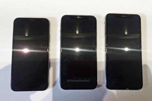 Bộ ba iPhone 9, iPhone X và X Plus so dáng - 1
