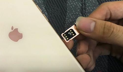 Sau khi áp dụng đoạn mã ICCID mới, người dùng iPhone lock chỉ dùng sim ghép một lần.