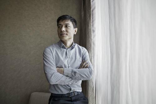 CEO kiêm đồng sáng lập Baidu Lý Ngạn Hoành. Ảnh: Bloomberg