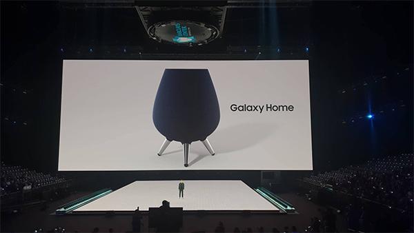 Loa thông minh Galaxy Home được tích hợp trợ lý ảo Bixby.