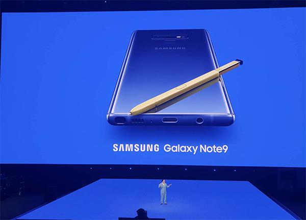 Galaxy Note9.