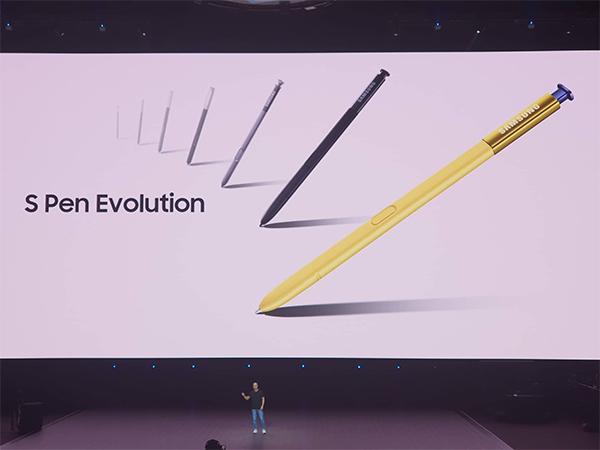 Với hàng loạt nâng cấp, bút S Pen tiếp tục là trang bị đáng tiền trên Note9.