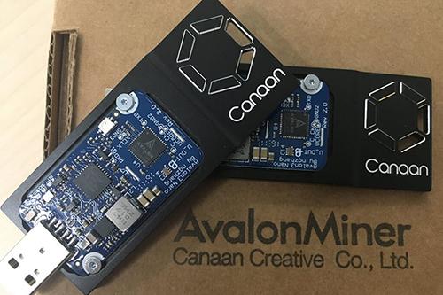 Module chứa chip đào Bitcoin nằm bên trong TV của Canaan.