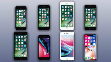 iPhone SE là model có kích thước màn hình bé nhất hiện nay của Apple.