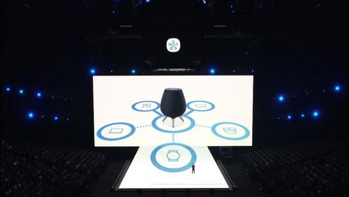 Bixby có thể kết nối và điều khiển mọi thứ trong nhà thông minh.