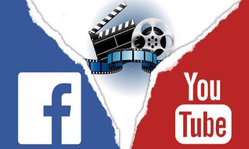 YouTube và Facebook đang cạnh tranh mạnh mẽ về chia sẻ video. Ảnh: XtremeRain