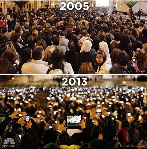 Smartphone thay đổi thế giới ra sao qua hai ảnh chụp Tiger Woods - 2