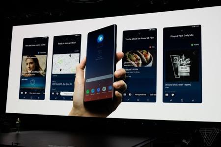 Bixby trên Galaxy Note9 có khả năng trò chuyện một cách tự nhiên hơn nhiều so với thế hệ trước.