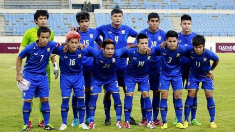 Đội tuyển Thái Lan tại Asiad 2018.